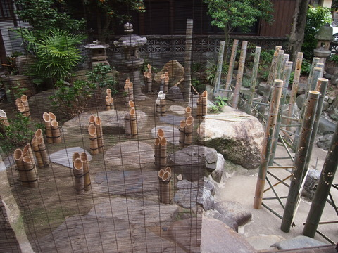 旧笠井邸の庭