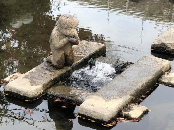 佐嘉神社の紅葉とゾンサガスタンプラリー (33)