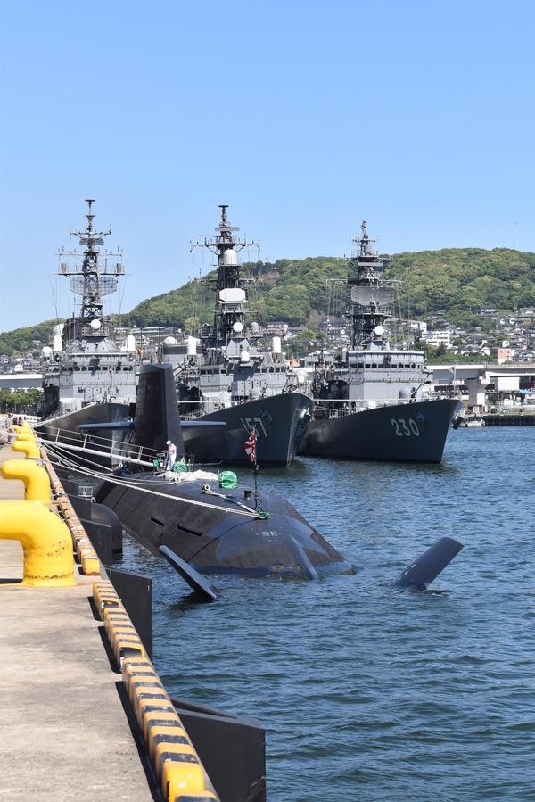 そうりゅう型潜水艦@倉島岸壁 (17)