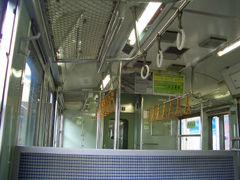 中央本線普通列車車内