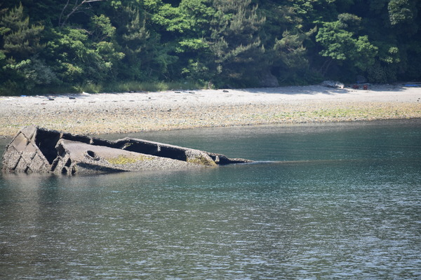笠戸島のコンクリート船 (25)