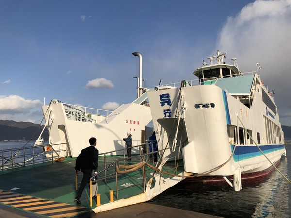 小用港から呉へ (7)