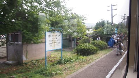 44車窓(西岸駅)