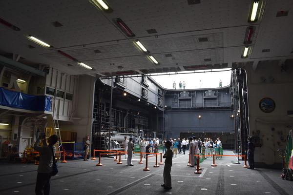 ヘリ搭載護衛艦「いせ」@唐津港 (4)