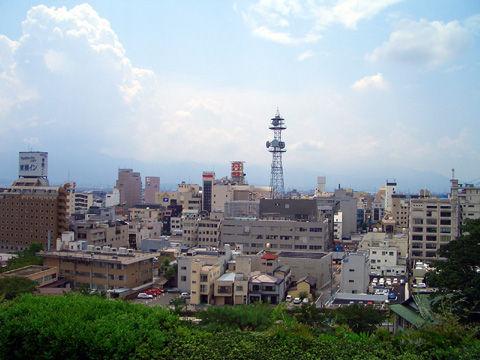 甲府城本丸からの景色3