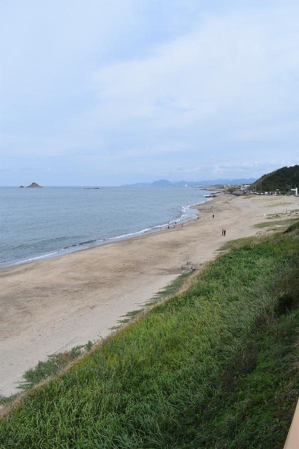 白兎海岸と倉吉の夜 (3)