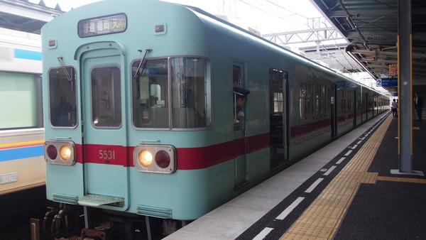 西鉄鉄道むすめヘッドマーク列車 (13)