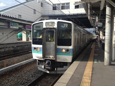 上田から恵那へ (2)