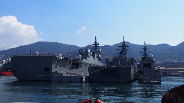 軍港クルーズ(2014春の青春18きっぷ呉) (9)