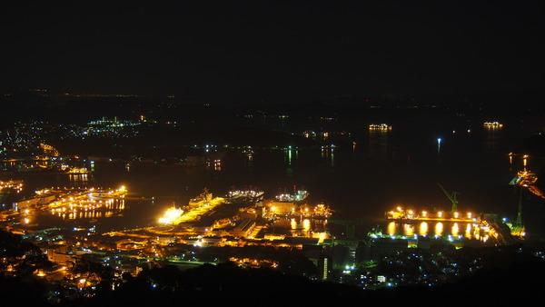 弓張岳展望台夜景