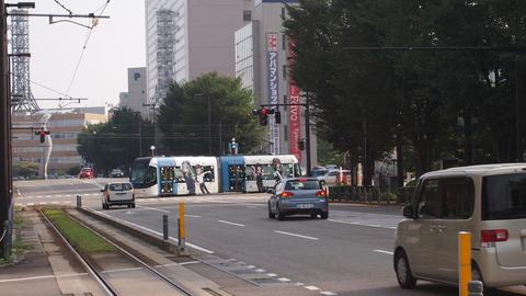 25さよなら鉄道むすめ巡りラッピング電車(青)