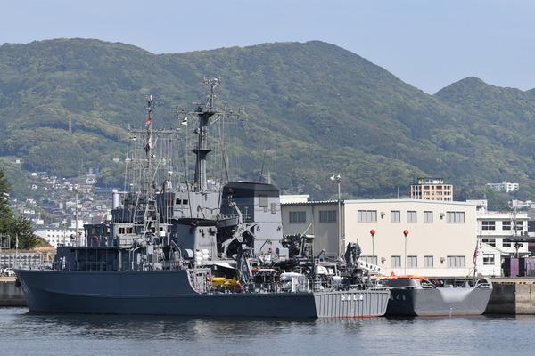 長崎帆船まつりと護衛艦 (2)
