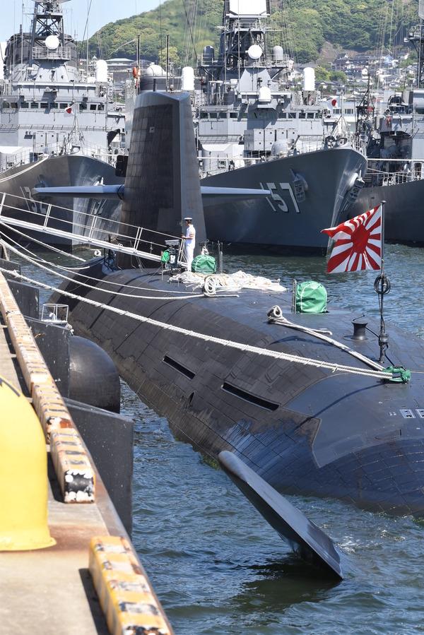 そうりゅう型潜水艦@倉島岸壁 (19)