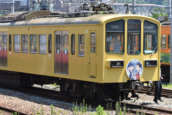 近江鉄道伊豆箱根鉄道コラボHM (2)