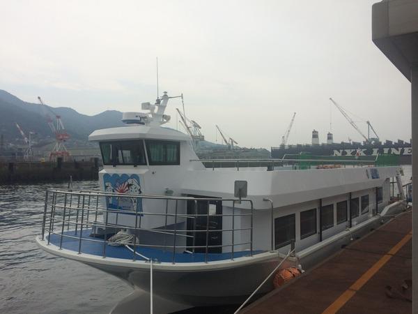 呉軍港クルーズ20160815 (1)