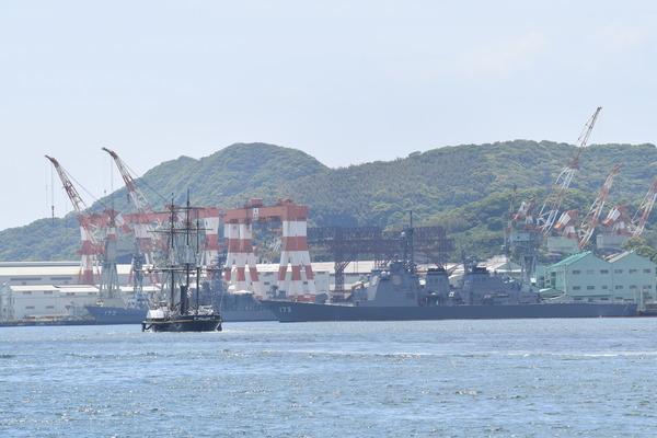長崎帆船まつりと護衛艦 (17)