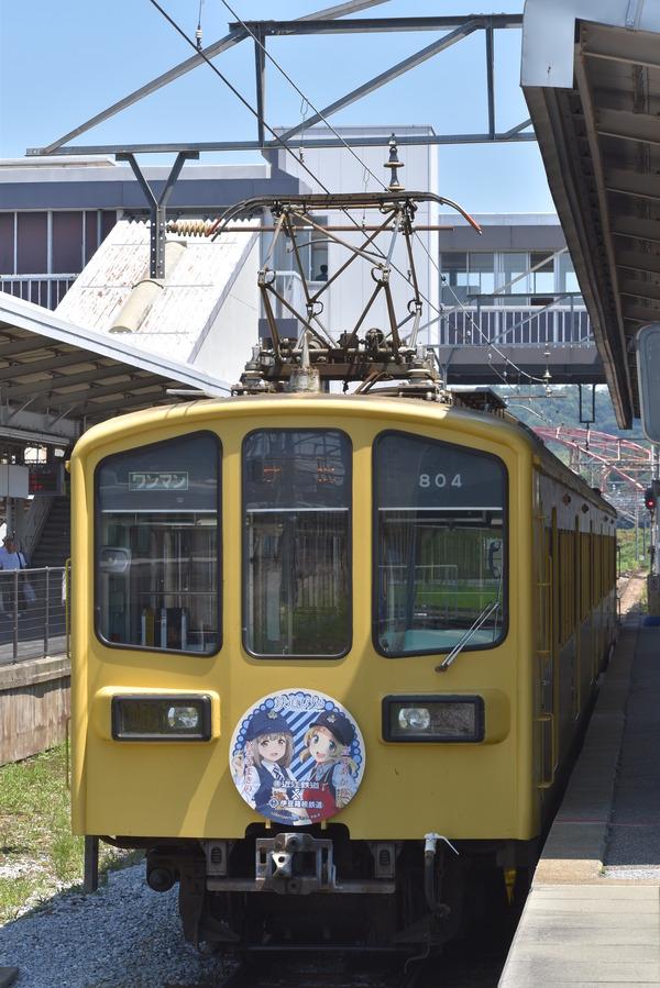 近江鉄道伊豆箱根鉄道コラボHM (21)