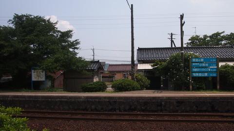 29西岸駅ホーム