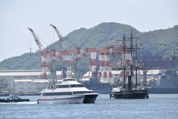 長崎帆船まつりと護衛艦 (15)