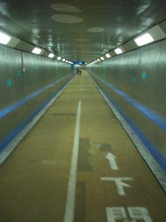 関門トンネル人道(下関側)