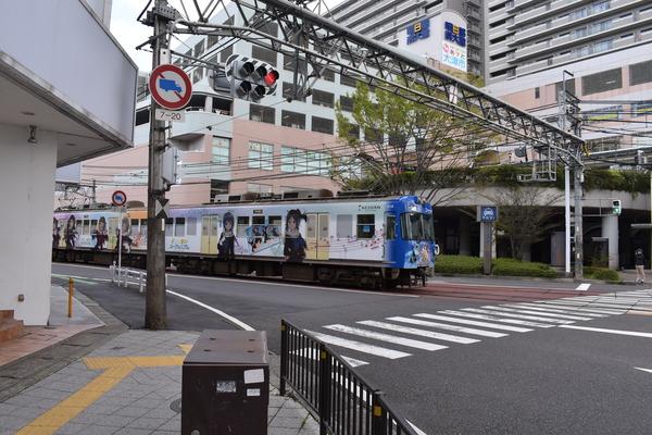 京阪大津線響けユーフォニアム列車後編 (46)