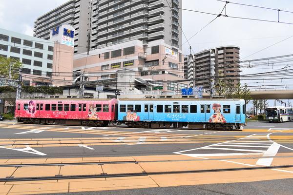 ちはやふる-結び-ラッピング電車 (21)