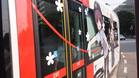 02鉄道むすめ巡りラッピング電車(赤)