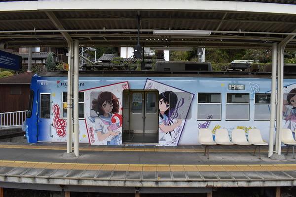 響け!ユーフォニアムラッピング2018駅編 (49)