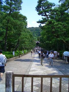 八坂神社からの参道
