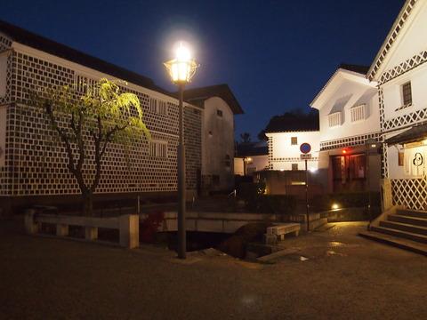 倉敷考古館前