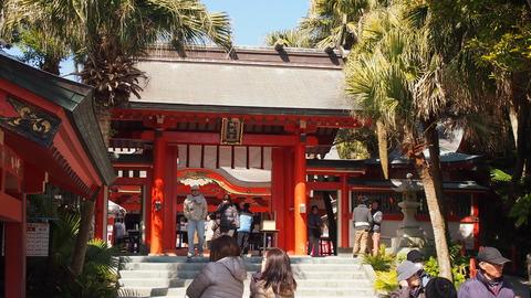青島神社の楼門