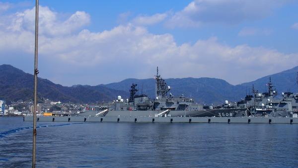 軍港クルーズ(2014春の青春18きっぷ呉) (14)