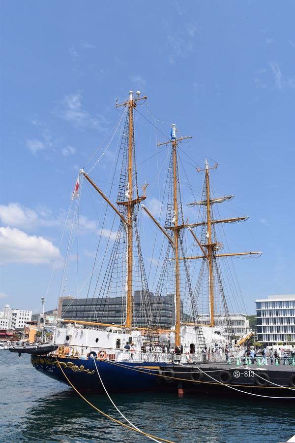 長崎帆船まつりと護衛艦 (22)
