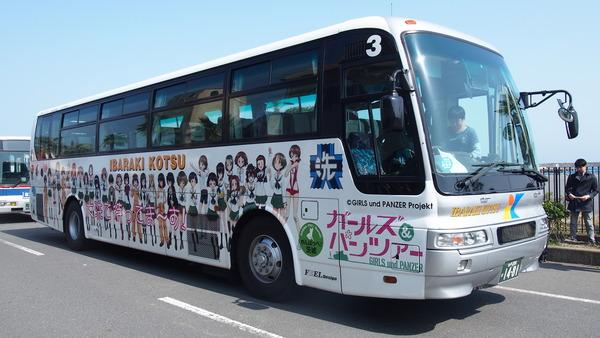 ガルパンラッピングバス (3)