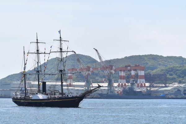 長崎帆船まつりと護衛艦 (30)
