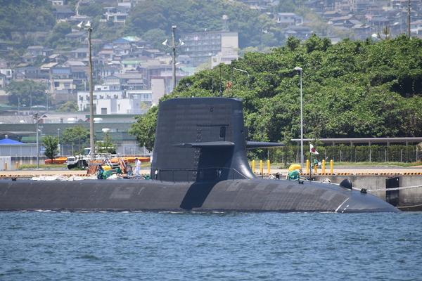 そうりゅう型潜水艦@倉島岸壁 (2)