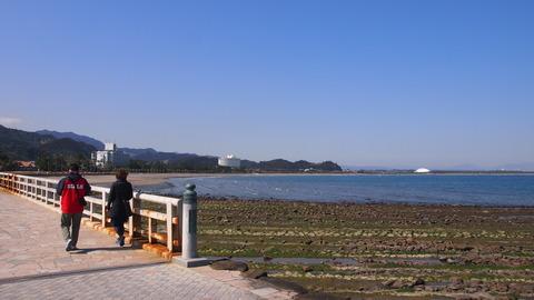 弥生橋からこどものくに方面