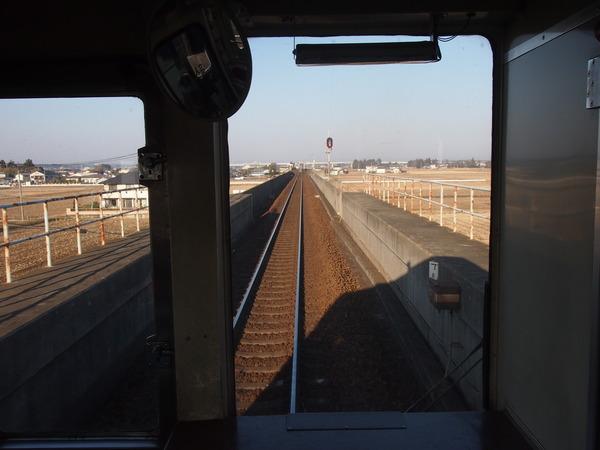 ガルパン列車で大洗へ (9)