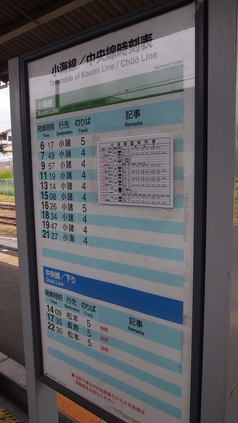 小海線の旅 (28)