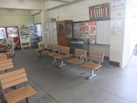 竹原駅待合室