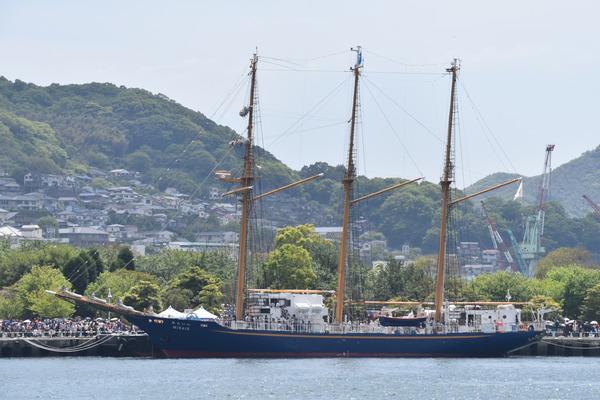 長崎帆船まつりと護衛艦 (9)