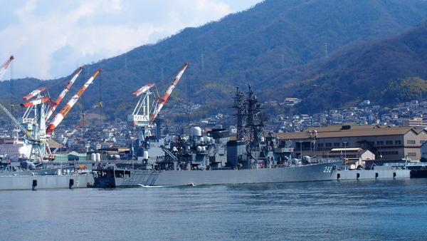 軍港クルーズ(2014春の青春18きっぷ呉) (13)