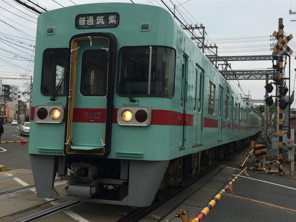 西鉄鉄道むすめヘッドマーク列車 (7)