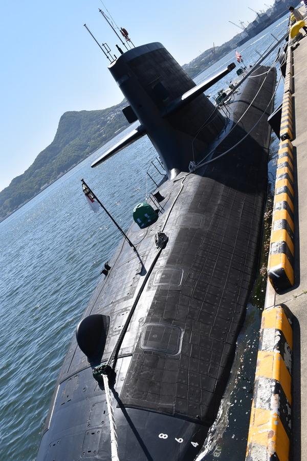 そうりゅう型潜水艦@倉島岸壁 (11)