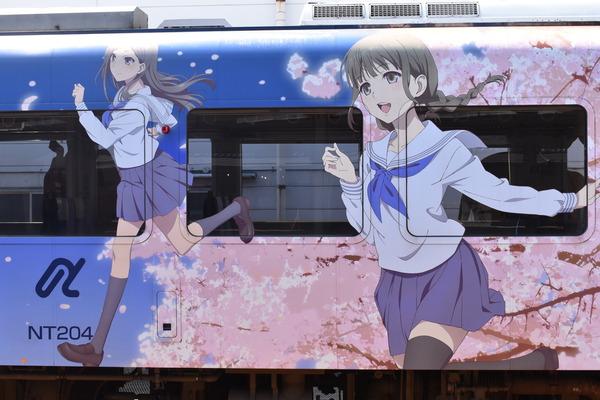 のと鉄道花咲くいろはラッピング (5)