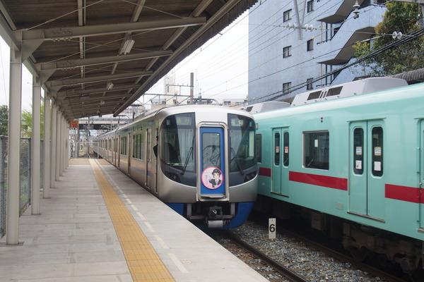 西鉄鉄道むすめヘッドマーク列車 (42)