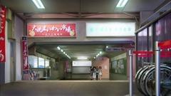ガルパン列車で大洗へ(参考画像) (1)