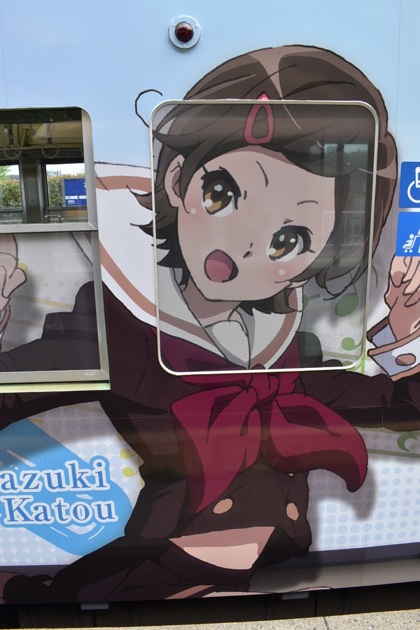 響け!ユーフォニアムラッピング2018駅編 (9)