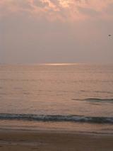 津屋崎の夕日2