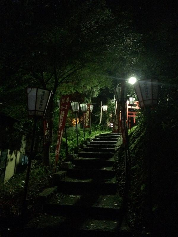 ぼんぼり灯る湯涌温泉 (8)